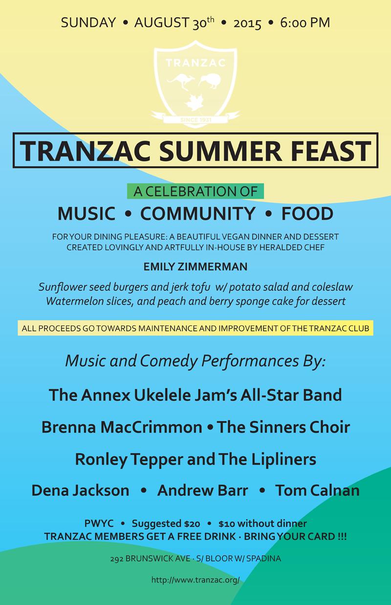 Summer Feast 2015